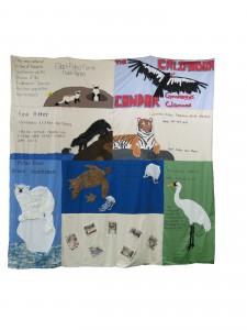 Ms Harada's homeroom quilt.